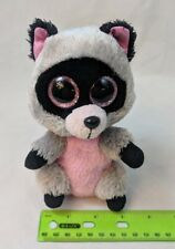 "2015 Ty Beanie Boos ROCCO the Raccoon 6"" - played with, no tag"