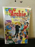 Archie #604 Archie Comic Book BAGGED BOARDED