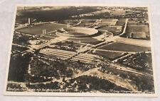 VINTAGE RPPC OLYMPICS OLYMPIAD GAMES BERLIN 1936 GERMANY POSTCARD STADIUM AERIAL