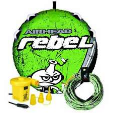 AIRHEAD Rebel Tube Rope Pump Kit Inflatable Single Rider Towable | Open Box