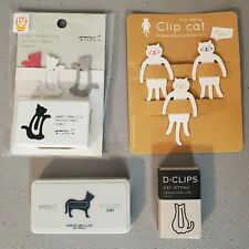 Japanese Cat Themed Office Supplies Paper Clips Gift Cat Lover