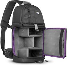 Altura Photo Camera Sling Backpack for DSLR/Mirrorless Cameras Canon/Nikon/Sony