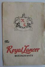 Restaurant Menu For The Royal Lance Restaurant 3 Locations Long Island
