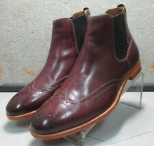 271243 PFBT40 Men's Boots Size 12 M Burgundy Leather 1850 Series Johnston Murphy
