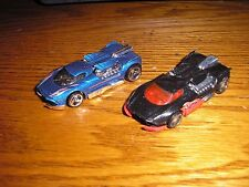 Vintage Lot of 2 Different Hot Wheels Maelstrom Street Racer Coupes Hot Rods
