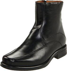 Giorgio Brutini JACKSON Mens Black 249931 Side Zip Leather Boots