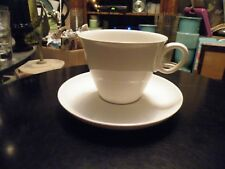 Franciscan CLOUD NINE Whitestone Cup and Saucer White