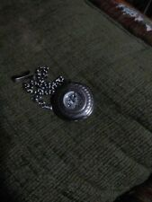 Vintage Men Classic Pocket Watch Steampunk Smooth Surface Pendant Chain Newly