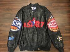 2007 JEFF HAMILTON NBA ALL STAR GAME LAS VEGAS LEATHER JACKET MENS XL