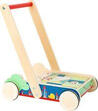 Legler Small Foot Building Blocks Baby Walker Wooden Wood Toy