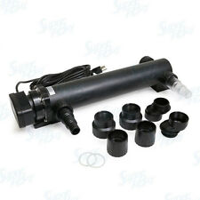 "24W UV Non-Submersible 21.5"" Sterilizer Light Clarifier Filter Aquarium Pond"