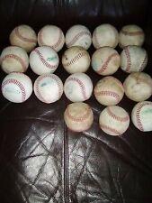 18 Genuine Leather Baseballs Batting Practice Hitting High School