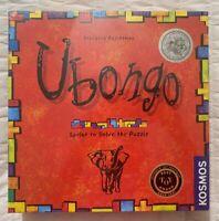 Ubongo Board Game Sprint to Solve Puzzle Strategy Germany Rejchtman Kosmos 2015