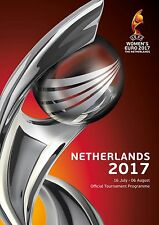 UEFA Women's Euro 2017 Official Tournament Programme - Mint - In Stock Now.