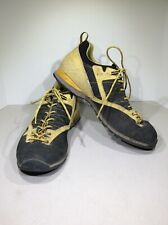 ASOLO Magix Men's Size 11.5 Black/Yellow Low Top Lace Up Hiking Shoes X21-855