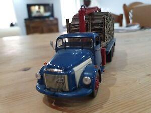 Miniature ALTAYA IXO 1/43 - Camions d'autrefois - #Volvo# N88 transport de bois