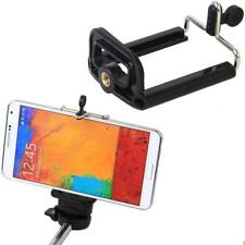 Smartphone Tripod Bracket Mount Holder Adapter Tripod Camera Stand Clip Black