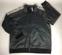 Adidas Men's Zip-up Track Jacket Dark Grey Sz - XL