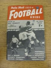1953/1954 Daily Mail: Football Guide, 128 Pages, Edited by Roy Peskett and Fully