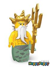 Lego 8831 Minifigur Serie 7 #5 Ozean König Ocean King Neu und ungeöffnet /Sealed