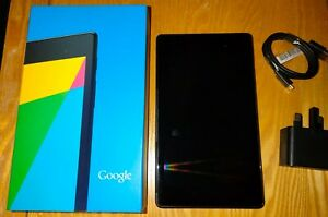 "Asus Google Nexus 7 (2nd Generation) 7"" 2GB RAM, 32GB Memory Tablet - Black (AS…"