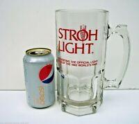 Stroh Light 1982 World's Fair Knoxville Light Beer LARGE Quart Mug Stein Strohs