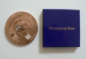Scarce Rare EuroTunnel Official Opening Commemorative Medal 6 May1994 Boxed GEM