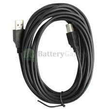 NEW 6ft USB2.0 A Male to B Male Printer Scanner Cable Cord HOT! (U2A1-B1-06BLK)