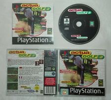 ACTUA GOLF 2 Sony PlayStation ps1 psx pal gioco game golf completo