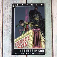 Batman: Fortunate Son, First Printing, Paperback 1999 DC Comics