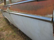1955 56 DODGE CORONET 2DR SEDAN PASSENGER DOOR CHROME TRIM BELTLINE