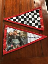 Quadrophonia Jimmy & Steph Scooter Pennant Flag