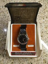NOS Vintage 1967 Bulova Jet Clipper Mens Automatic Wrist Watch