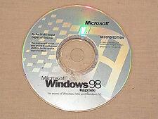 Microsoft Windows 98 Upgrade Disc
