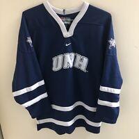 Nike Team UNH University of New Hampshire Wildcats Hockey Jersey XL Youth Boys