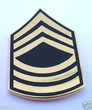 US ARMY RANK  E8 MASTER SERGEANT MSG Military Veteran Hat Pin 14430 HO