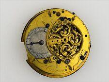 Dufalga Geneve Swiss Made Verge Fusee Pocket Watch Movement 37.5 mm (1045)