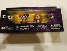 DC Mini Mezitz Gotham City Villains Joker Harley Quinn Poison Ivy Catwoman NEW
