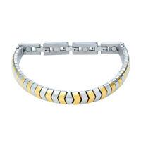Energetix 4you 440  Flex Magnetarmband bicolor gold silber magnetix energie TCM