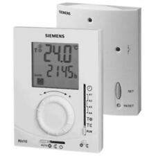 Siemens RDJ10RF / SET-GB Wireless Programmable RF Roomstat Thermostat & Receiver