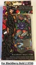 "Ed Hardy ""ETERNAL LOVE""  Phone Case -Blackberry Bold 2 9700 + Screen protector"