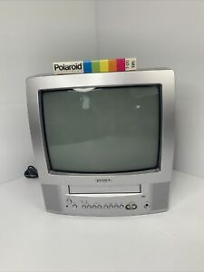 """Toshiba MV13Q41 13"""" Retro Gaming TV VCR Combo & Blank Tape * Tested and Working"""
