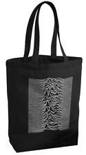JOY DIVISION Leinentasche Canvas Tote Bag black kostenloser Versand