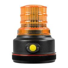 """12 Volt 4 Flashing Pattern 4"""" LED Battery Operated Magnetic Warning Beacon Light"""