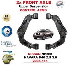 2x Essieu Avant L + R Upper Control Arms pour NISSAN NP300 Navara D40 2.5 3.0 2005-on