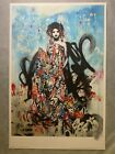 """Seductress by Hush - 2012 - Signed & Numbered - Screenprint - 16"""" x 23"""""""