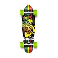 RASTA Lion Complete Longboard MICRO Cruiser skateboard