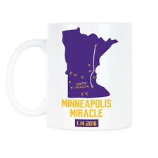 Minneapolis Miracle Gift Minnesota Vikings Coffee Mug Skol Vikings Mugs Gifts