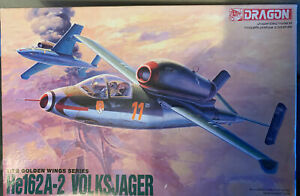 Dragon He162 A-2 Volksjager 1/72 scale