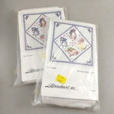 Herrschners Inc Kittens Mini Quilt Kits 2 Stamped Cross Stitch Cats Design Small